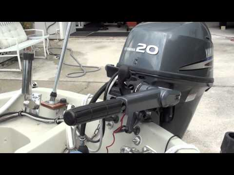 How I Set The Boat Up For Fishing….