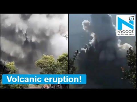 WATCH VIDEOS: Volcanic eruption at Indonesia's Mount Tangkuban Parahu