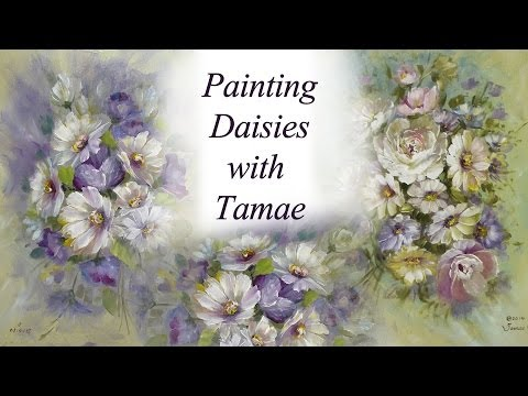 Painting Daisies with Tamae- Japanese Version
