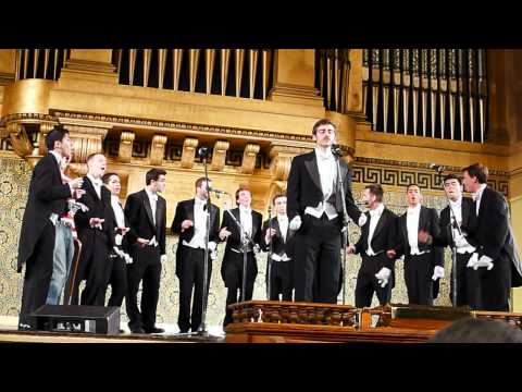"""Hallelujah"" performed by The Yale Whiffenpoofs of 2012 at Woolsey"
