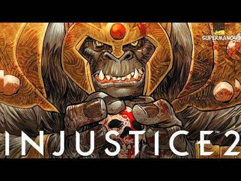 THE POWER OF GORILLA GRODD! - Injustice 2 Random Character Select