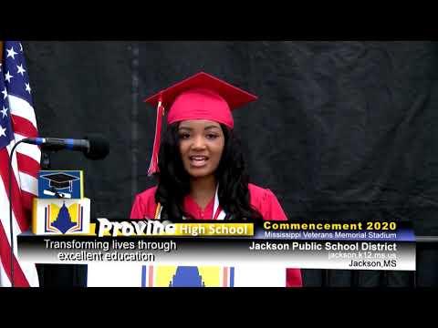 2020 Provine High School Graduation
