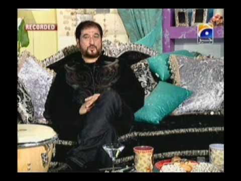 Nadeem Akhtar Saifi of Nadeem Shravan in NADIA KHAN SHOW    Part 3 of 13