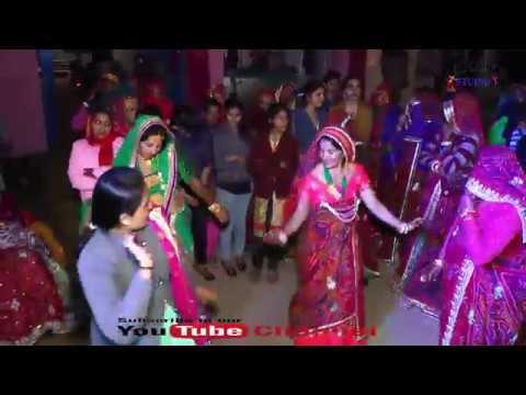 Rajasthani Marwadi DJ Dance Video Song Indian Village Wedding Marriage Dance Performance Video 2019