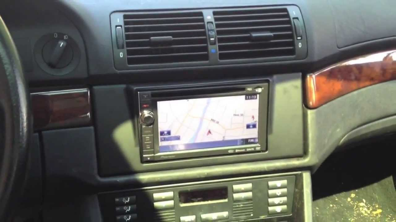 How to Change the Radio on a BMW 5 Series 19972003  YouTube