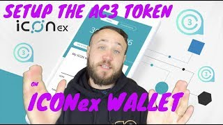 How To Setup The AC3 Token on ICONex