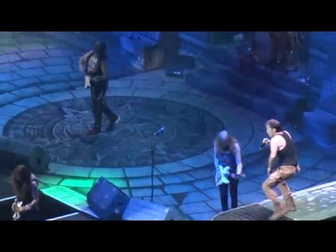 Iron Maiden - Wasted Years LIVE @ The Palace of Auburn Hills, MI  Detroit 04/05/2016