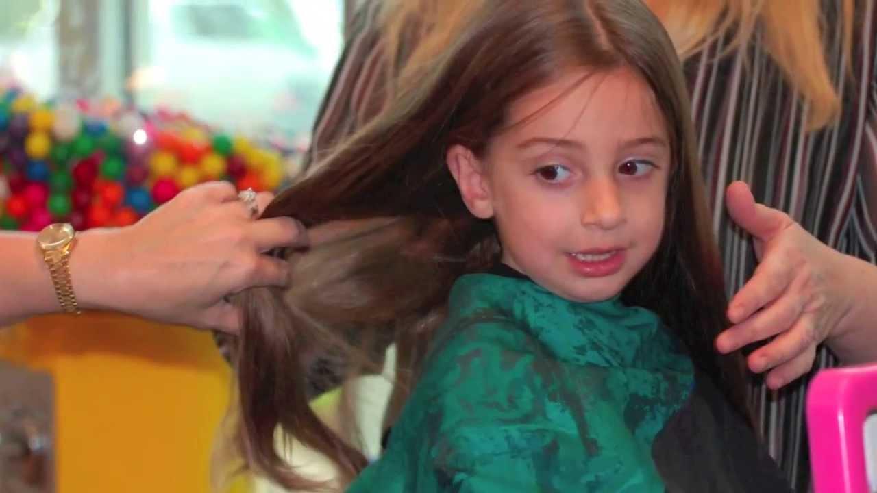 First Haircut | Charlotte S First Haircut Youtube