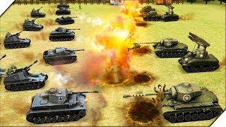 БОЕВОЙ СИМУЛЯТОР ТАНКОВ на АНДРОИД - Игра WW2 Battle Simulator # 5