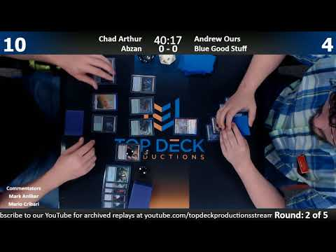 Modern FNM w/ Comm 9/22/17: Chad Arthur (Abzan) vs. Andrew Ours (Blue Good Stuff)