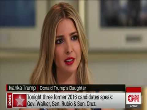 Ivanka Trump explaining about her and family in full interview