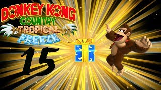 Donkey Kong Country Tropical Freeze (Switch/100%) Part 16: No damage in 4-K und Kugelfisch-Boss!