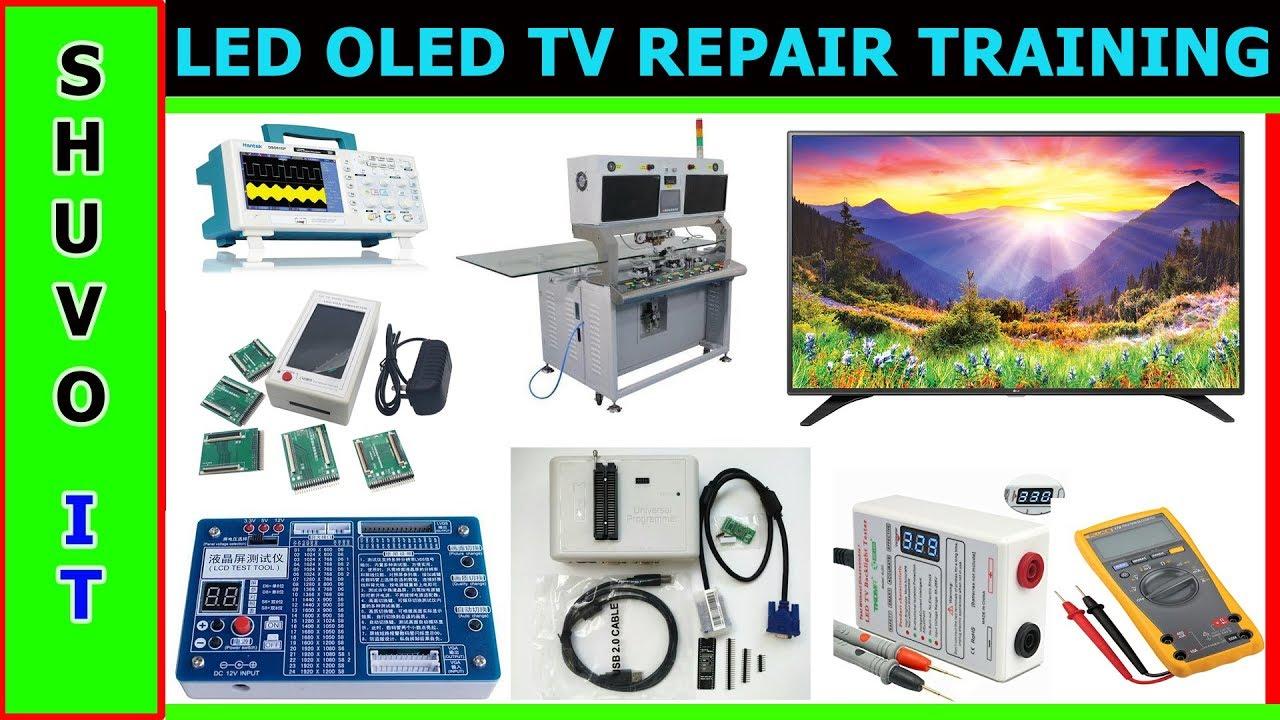 LCD LED OLED TV Repairing Course Free Bangla Tutorial Part 2
