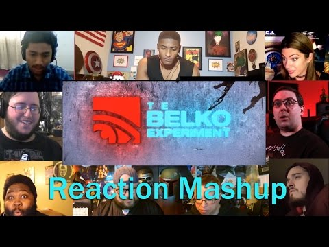 The Belko Experiment Red Band Trailer   REACTION MASHUP