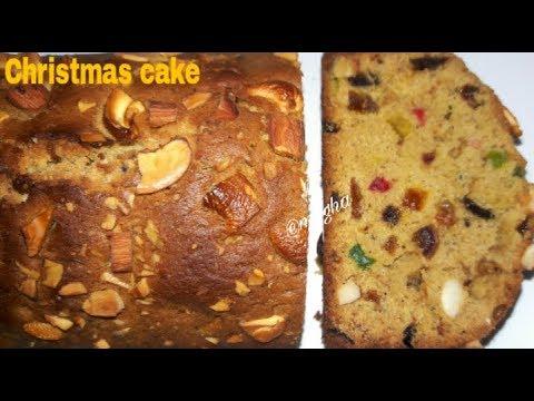 INSTANT CHRISTMAS RUM CAKE || CHRISTMAS FRUIT CAKE RECIPE WITHOUT ...
