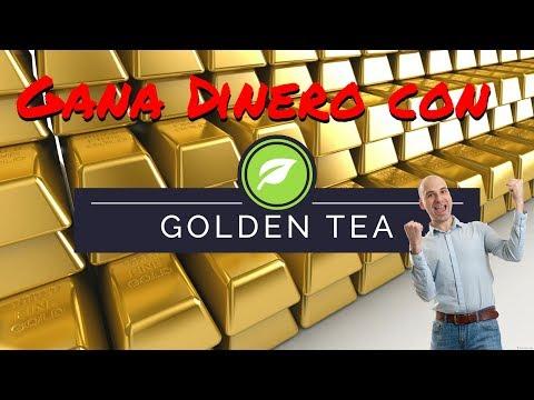 Gana Dinero! con Golden tea! 10.000 monedas gratis para comenzar
