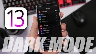 iOS 13 Dark Mode Review !
