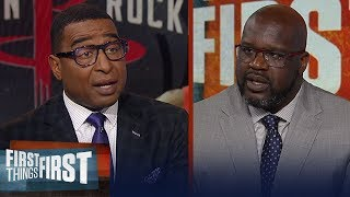 Shaq calls Kawhi 'the King of Toronto', talks friction with the Rockets | NBA | FIRST THINGS FIRST