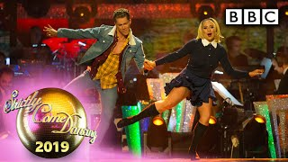 Saffron Barker and AJ Jive to 'Every Little Thing She Does Is Magic' - Halloween | BBC Strictly 2019
