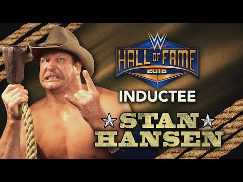 Stan Hansen joins the WWE Hall of Fame Class of 2016