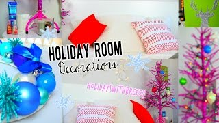 Diy Holiday Room Decor + Easy Ways To Decorate For Christmas!