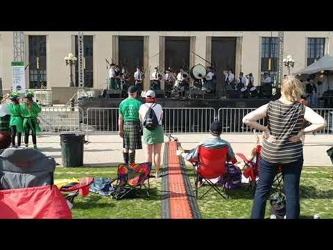 Nashville Pipes & Drums at Music City Irish Fest