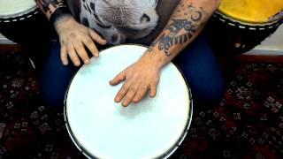 Уроки игры на джембе от Вани Пуха. Урок 3