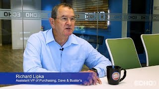 Echo Client Testimonial - 80 Seconds with Dave & Buster's