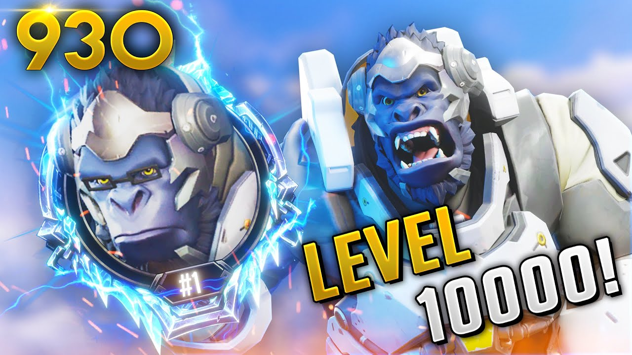 WORLD'S HIGHEST LEVEL PLAYER! 10,000! | Overwatch Daily Moments Ep.930 (Funny and Random Moments) thumbnail