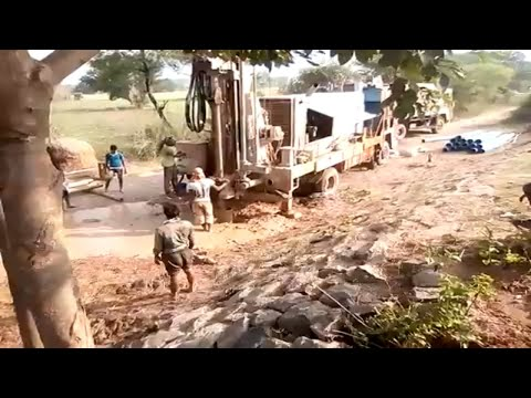 how to borewell drilling work (part-2)