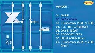 full album knk 크나큰 awake 1st mini album