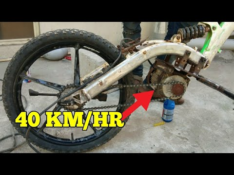 How to Make Faster Electric bike at home