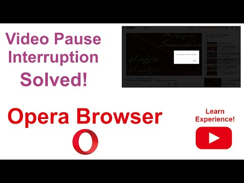 Opera Browser - How To Add YouTube Nonstop Extension To Avoid Video Pause Interruption?