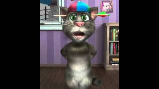 Talking Tom singing Party Rock is in the house tonight