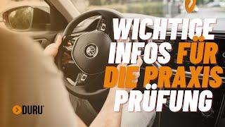 Führerscheinprüfung  Wichtige Tipps für die praktische Prüfung