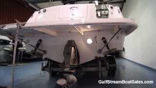 Rinker 230 Atlantic Cuddy For Sale UK -- Water Test and Walk Through by GulfStream Boat Sales