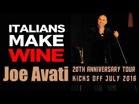 Italians Love Making Their Own Wine | Joe Avati: LIVE (DVD)