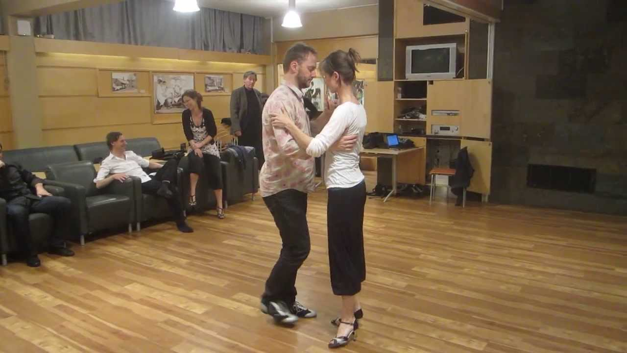 Tango steps by Terje and Sidsel jan 2014 - YouTube