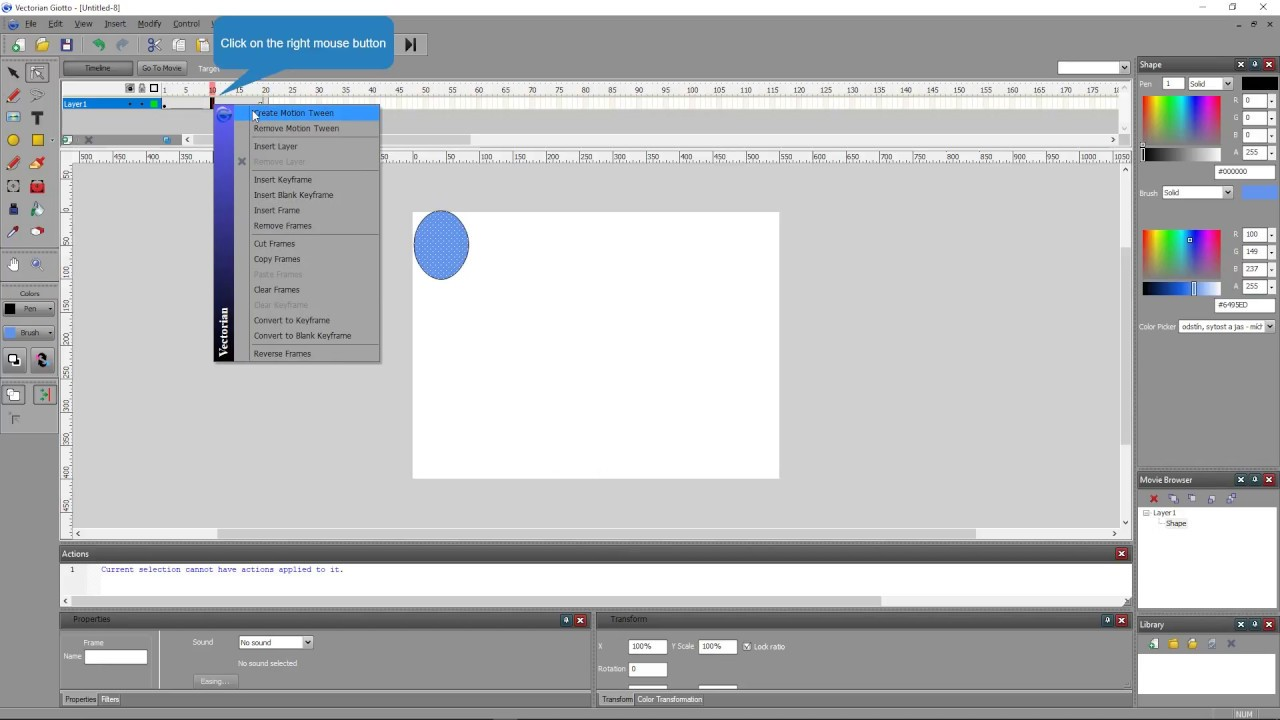Simple vectorian giotto tutorial youtube.