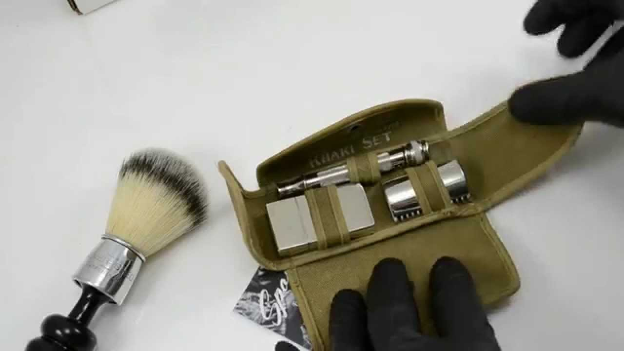 Replated 1919 Gillette Khaki Old Type Safety Razor Set ...