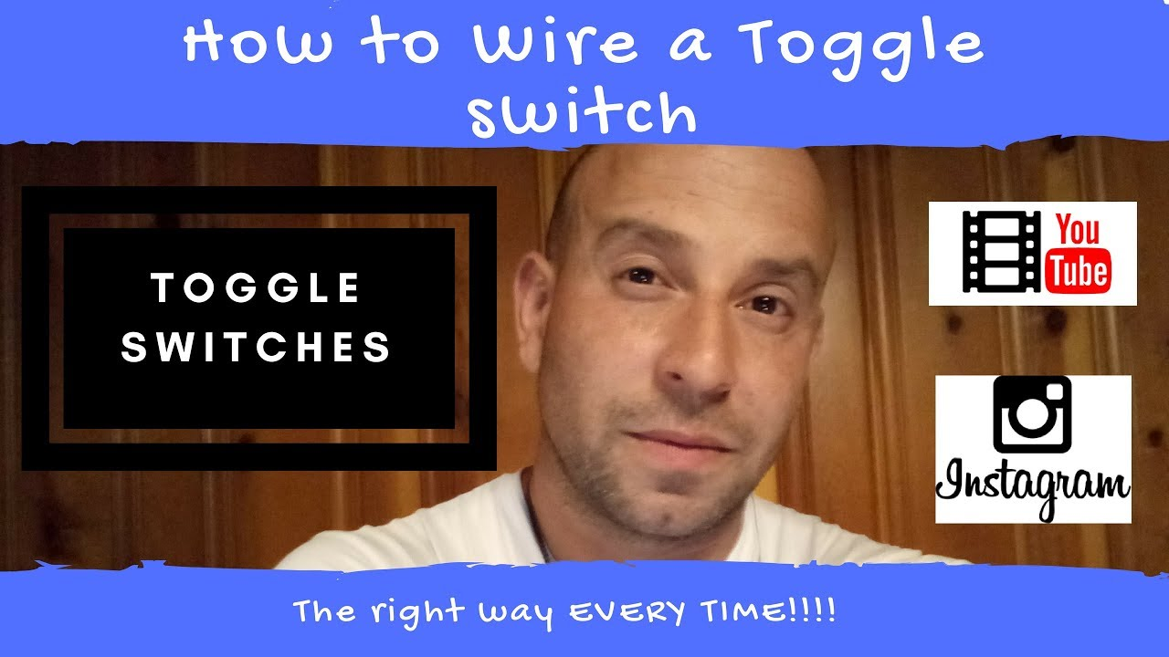 How To Wire A Toggle Switch Easiest Best Explanation Youtube 12 Volt 25 Amp On Off Metal Automotive Wiring