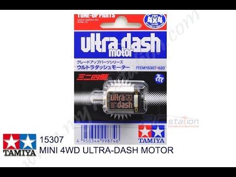 [Review] Uji Coba Dinamo Mini 4wd Tamiya Ultra Dash Motor #15307
