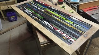 LaBelle Hockey Stick Coffee Table Part 1