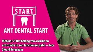 Ant Dental Start | Webinar 2 | Sjoerd Smeekens