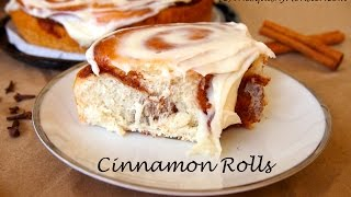 The Best Softest, Fluffiest Cinnamon Rolls - Perfect Rolls Recipe By The Squishy Monster