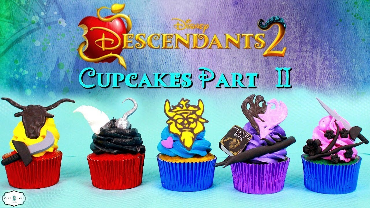 Part 2 Descendants 2 Cupcakes Ben Harry Gil Lonnie And