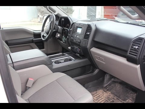 2016 Ford F150 CENTER CONSOLE INSTALL