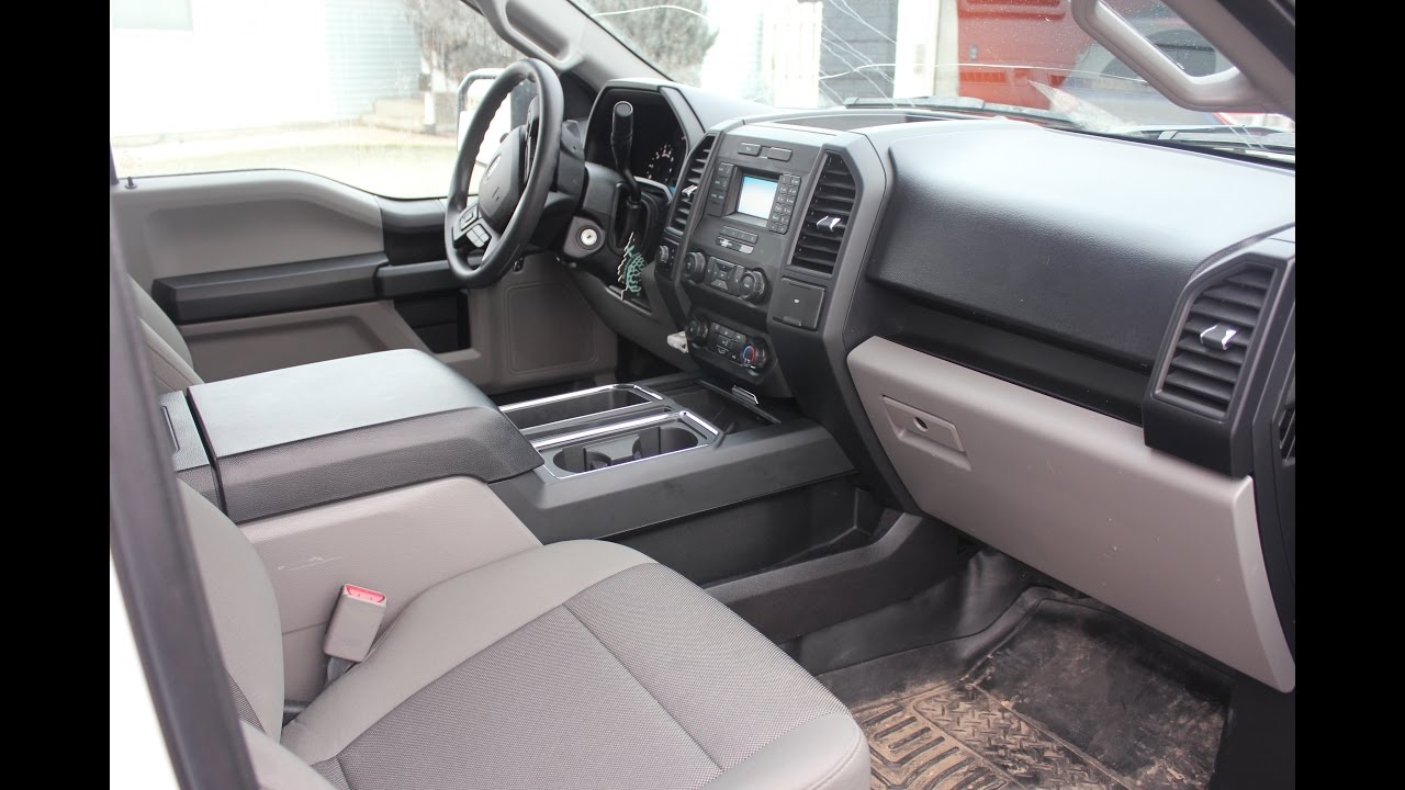 small resolution of 2016 ford f150 center console install