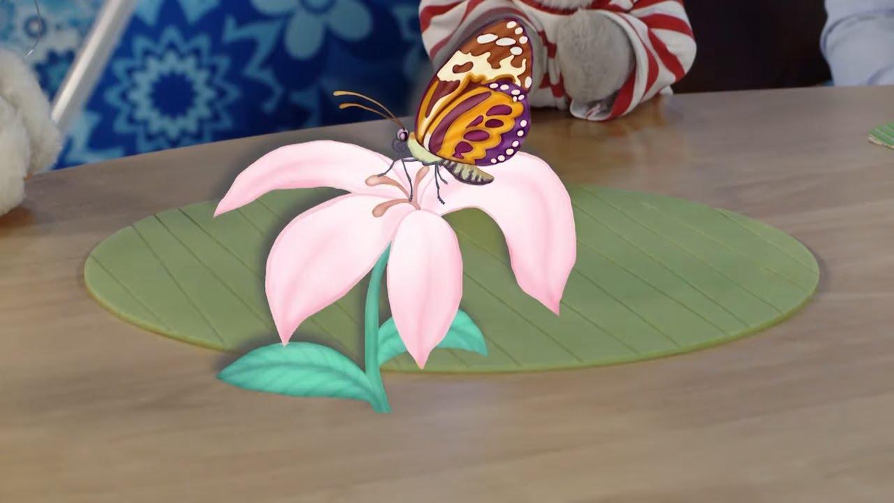 СПОКОЙНОЙ НОЧИ, МАЛЫШИ! - Бабочки и цветы - Мультфильмы (Пип и Альба)