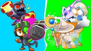 Bloons TD 6 - 4-Player Tech VS Magic Challenge | JeromeASF
